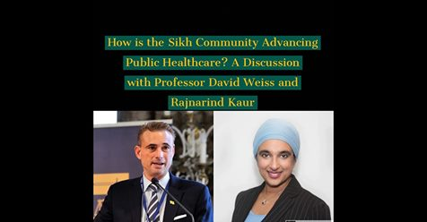 How the Sikh medical community is advancing public healthcare and awareness